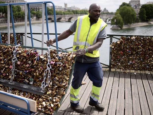 cadeados do amor paris