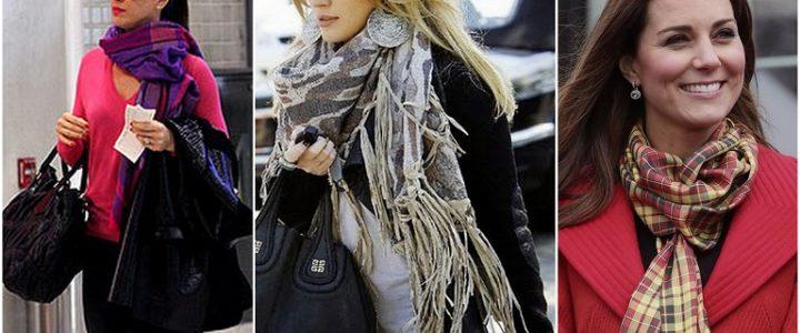 25 formas de usar lenços e echarpes