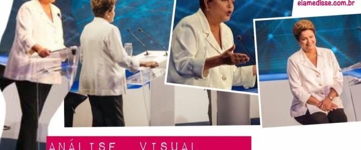 Análise visual – Dilma Roussef | Debate 2º turno