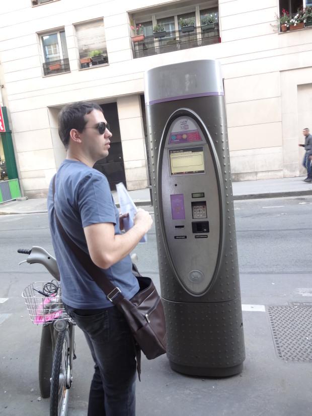 Velib - como alugar bicicleta em paris