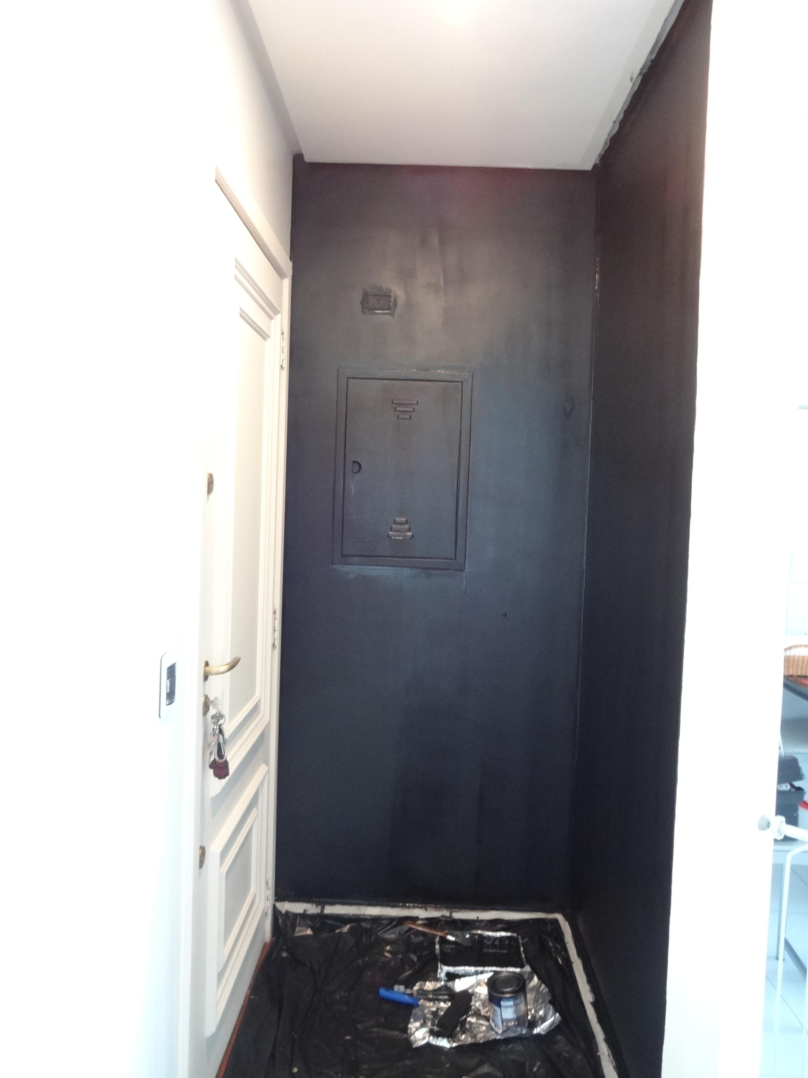 Como fazer parede com tinta lousa