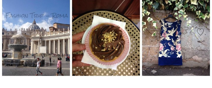 Diário de bordo: fashion trip e viagem gastronômica à Roma.