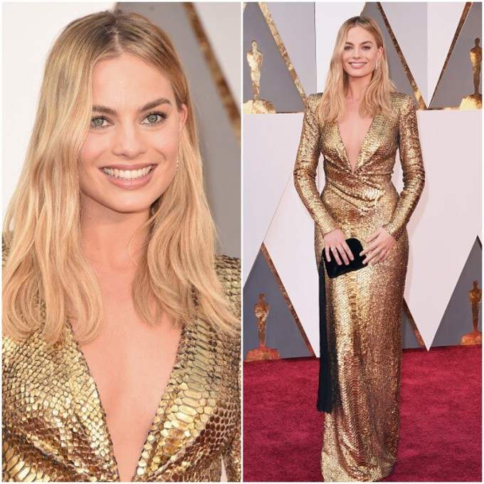 Margot Robbie veste Tom Ford