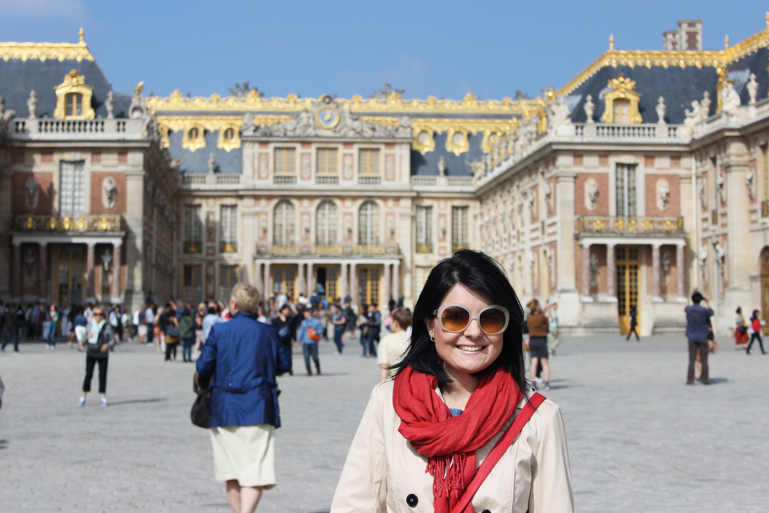 como chegar palácio versailles paris