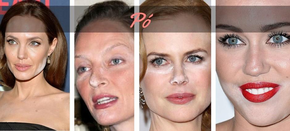 pó 7 erros de maquiagem