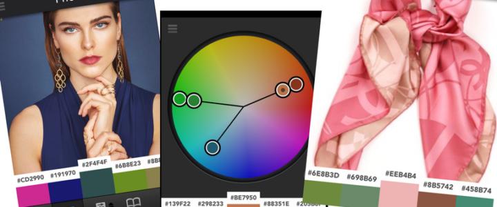 Como combinar as cores do look usando aplicativo
