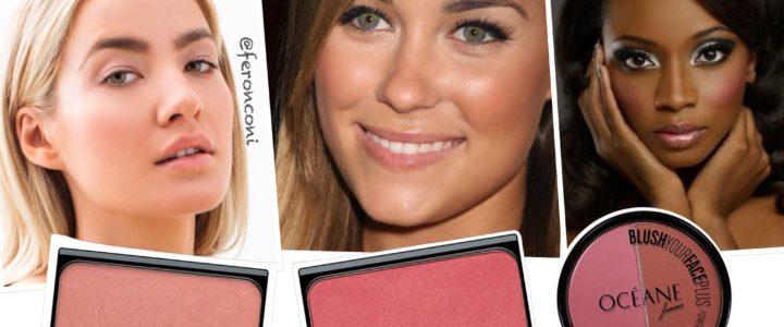Como escolher o blush ideal