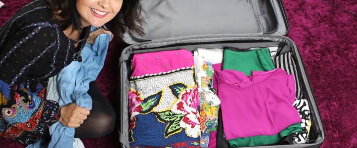 As 5 etapas da montagem de uma mala de viagem inteligente