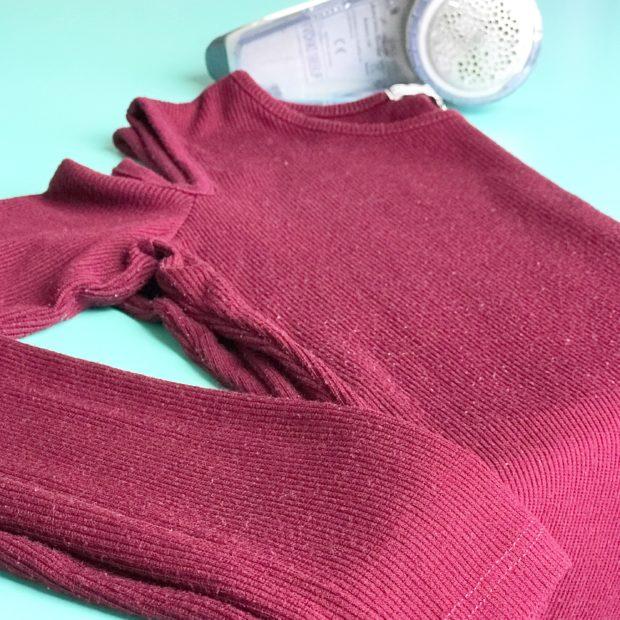 Como saber se a roupa vai formar bolinhas?
